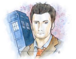 The 10th Doctor by Mikyechelon