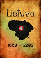 Lithuania millenium poster by Mahaloo