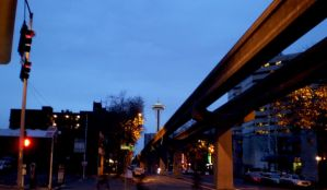 Track to the Space Needle by VVraith