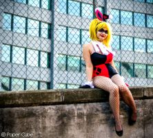 Bunny Harley Quinn by Paper-Cube