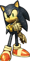 Sir Sonic Knight of the Wind-Sonic by BlazetheCat1445