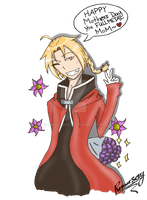 -Mothers Day Gift: Edward Elric- by Remorsery