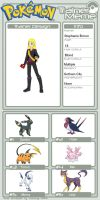 Comic Heroes in Pokemon: Stephanie Brown by MaidenMarvel