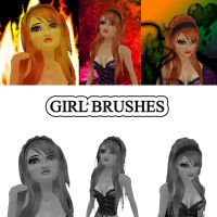 Girls Photoshop Brushes by Holly6669666