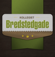 Retro Vintage Badge : Bredstedgade by instantsoul