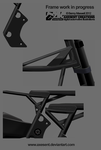 WIP - CAFE RACER FRAME by Axesent