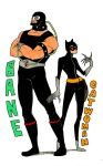 Bane + Catwoman by inside-under