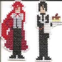Grell and Sebastian Pins by Sew-Madd
