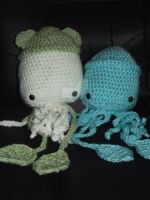 Squid by Amigurumi-Lover