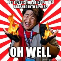 Oh Well Mako: Parking Tickets by Deckronomicon