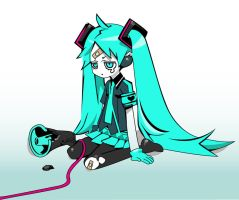 Miku Vector by cah25