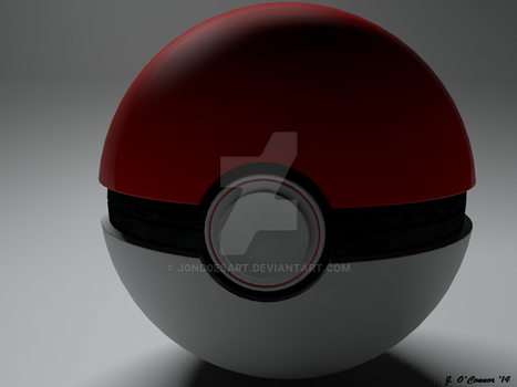 Pokeball by j0nd0esart