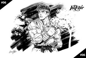 Ryu Street Fighter V. by viniciusmt2007