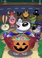 TUFF Halloween Poster by TheNoblePirate