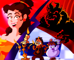 Beauty And The Beast by Chopfe