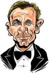 James Bond Caricature by parker65