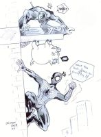 SPIDER PIG,Featuring Daredevil by CrimsonFace