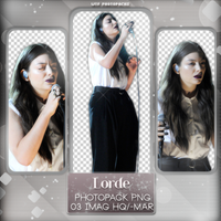 +Photopack png de Lorde. by MarEditions1