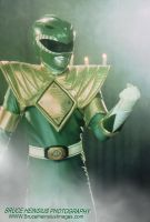 Green Ranger in Fog by Brucer007