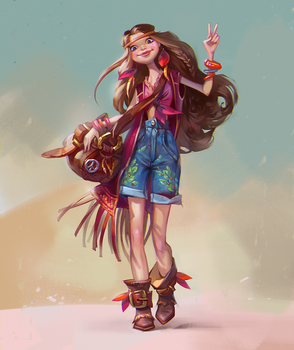 Hippy by LeraStyajkina