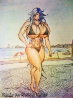 Yubel's Beach Body by theEmperorofShadows