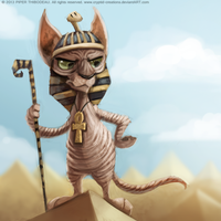DAY 241. Sphynx by Cryptid-Creations