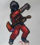 Pyro stitch by GamingBitCrossStitch