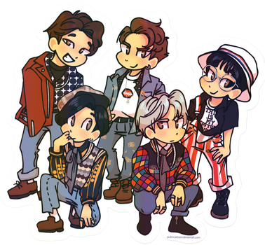 SHINee 1of1 by Pulimcartoon