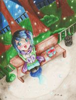 Winter: Frosty Gift by WoWxSaBaW