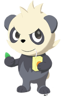 #674 - Pancham by DrumblastingQuilava