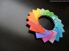 Origami Mette Pedersen Ring 2 by OrigamiPieces