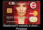 Mastercard down Priceless by Gephoria