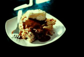Cinnamon bread pudding by sasQuat-ch