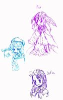 Rune Factory 3 doodles by Chibiaotori