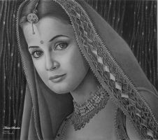 Indian Bride by Artist-Shadow