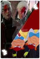 OUAT Card Tweedles by jeorje90