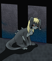 Sad little witch by chili19
