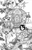 Treehouse inks and pencil by GabrielRodriguez