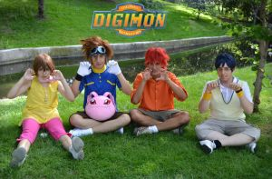 Digimon Cosplay - Digidinosaurs by emitatufan