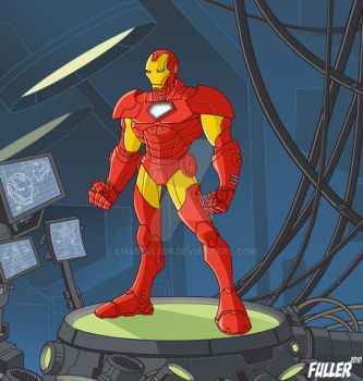 Iron Man by Chadfuller
