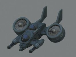 Shadowasp heavy attack hoverjet by Hongablaster