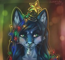 I'm not a Christmas Tree by LushmindaWolf