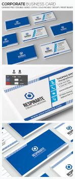 Corporate Business Card - RA77 by respinarte