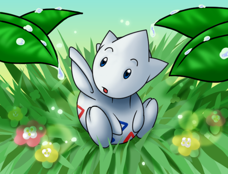 morning  Togetic by thundaflare