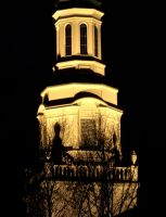 A Tower on a Rainy Night by jules-101