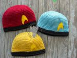 Star Trek Beanies by TheCrochetDragon