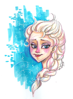 Elsa headshot by Lahara