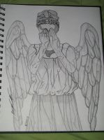 Doctor Who - Weeping Angel by Supernaturalhunter67