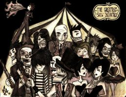 The Greatest Show Unearthed- Creature Feature by LookAliveZombie