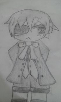 Chibi Ciel Phantomhive by OneAfterAnother